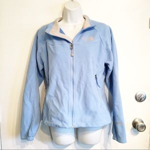The North Face Light Blue Windwall Fleece Jacket